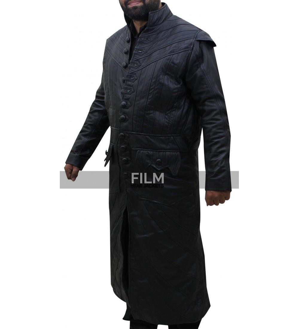 Black sails s3 pirate captain flint leather coat - Black Sails S3 Pirate Captain Flint Leather Coat
