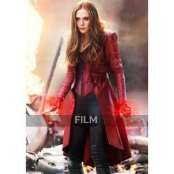 Elizabeth Olsen Captain America Civil War Red Coat