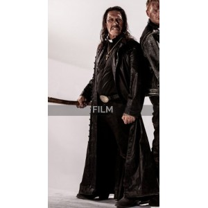Danny Trejo Zombie Hunter Long Black Coat