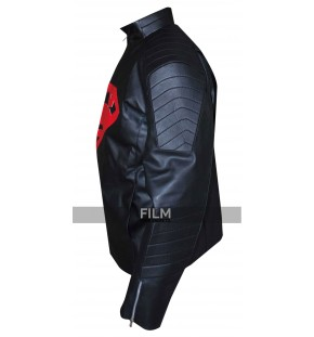 Superman Stylish Black Leather Jacket