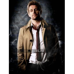 Matt Ryan Arrow S4 John Constantine Trench Coat