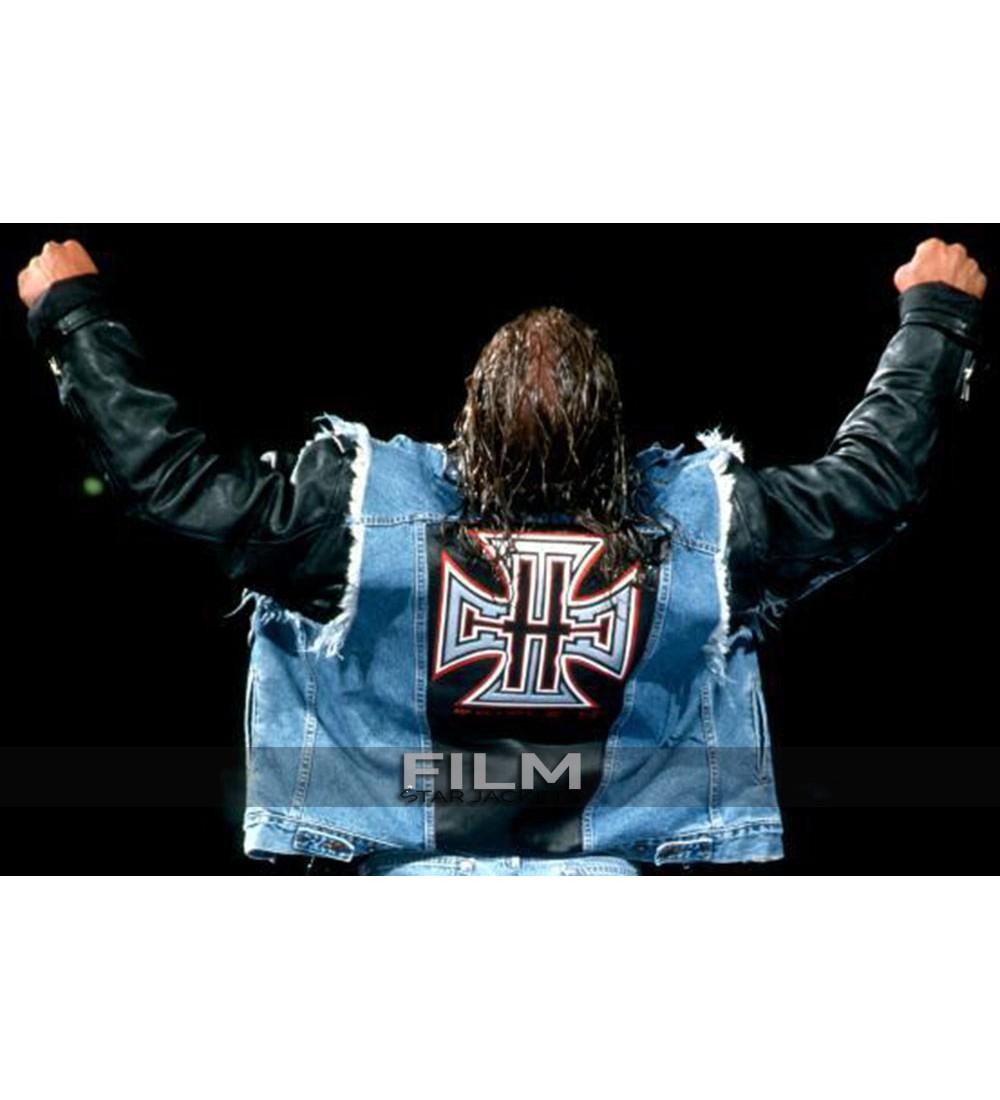 51f8c889faf8d WWE Triple H Blue Vest
