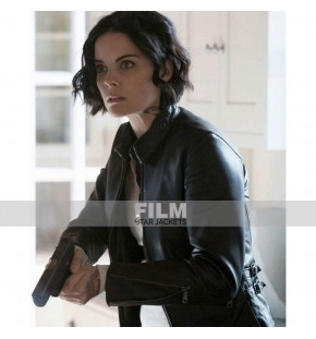 BLINDSPOT JAIMIE ALEXANDER (JANE DOE) BLACK LEATHER JACKET