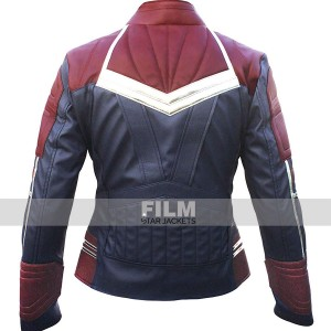 CAPTAIN MARVEL CAROL DANVERS COSTUME LEATHER JACKET