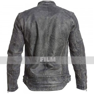 CAFE RACER AFFLICTION DISTRESSED LEATHER JACKET