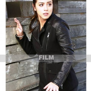 AGENTS OF SHIELD CHLOE BENNET (SKYE JOHNSON) LEATHER JACKET