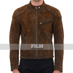 ARROW SEASON 3 ROY HARPER (COLTON HAYNES) SUEDE JACKET