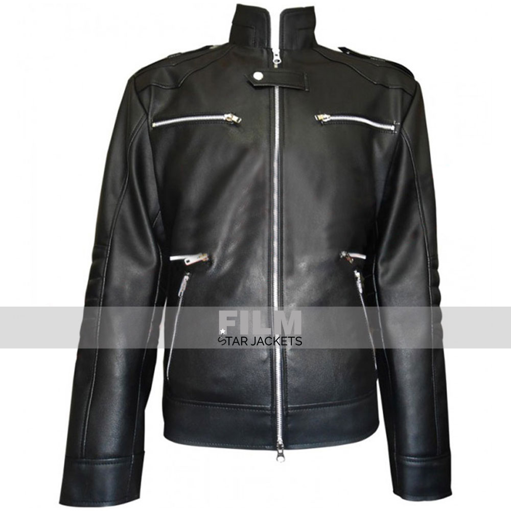 BREAKING BAD SEASON 5 AARON PAUL BLACK JACKET