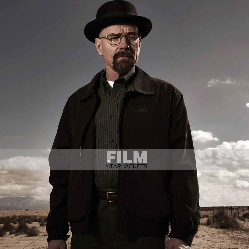 BREAKING BAD WALTER WHITE (BRYAN CRANSTON) JACKET