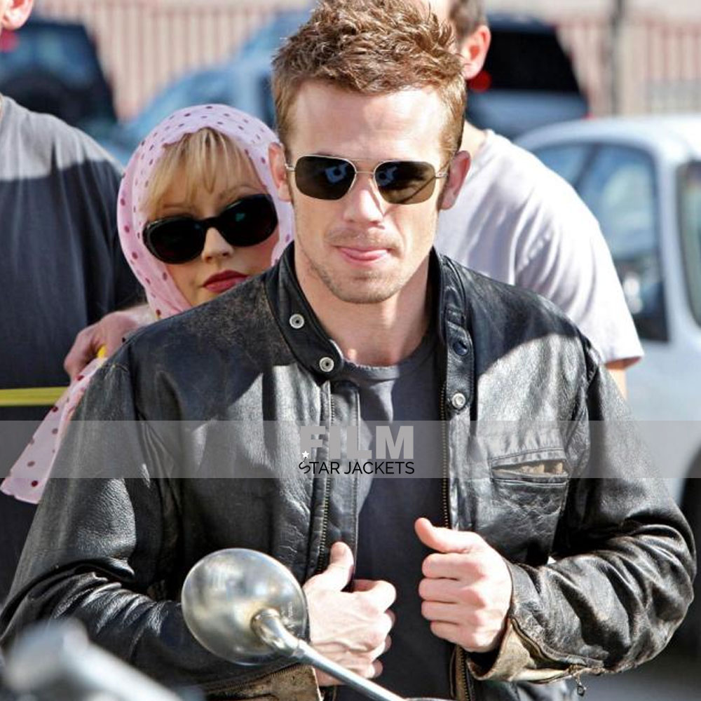 Burlesque Cam Gigandet (Jack) Leather Jacket