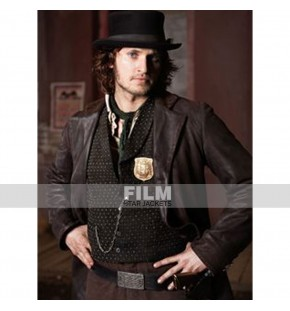 COPPER TOM WESTON JONES (KEVIN CORCORAN) LEATHER JACKET