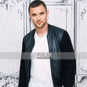 DEADPOOL ED SKREIN (AJAX) BLACK LEATHER JACKET
