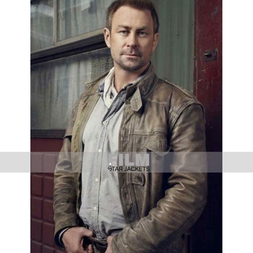 DEFIANCE JOSHUA NOLAN (GRANT BOWLER) LEATHER JACKET