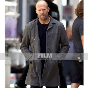 FAST AND FURIOUS 8 DECKARD SHAW (JASON STATHAM) LEATHER COAT