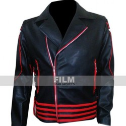 FREDDIE MERCURY ARROW LEATHER JACKET