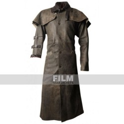 HELLBOY RON PERLMAN LEATHER COSTUME COAT