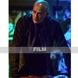 JOHN WICK 3 MARK DACASCOS (ZERO) BLACK LEATHER JACKET
