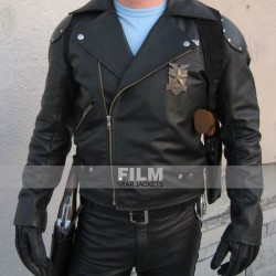 MAX ROCKATANSKY (MEL GIBSON) COSTUME LEATHER JACKET