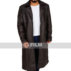 THE WALKING DEAD TOM PAYNE LEATHER COAT