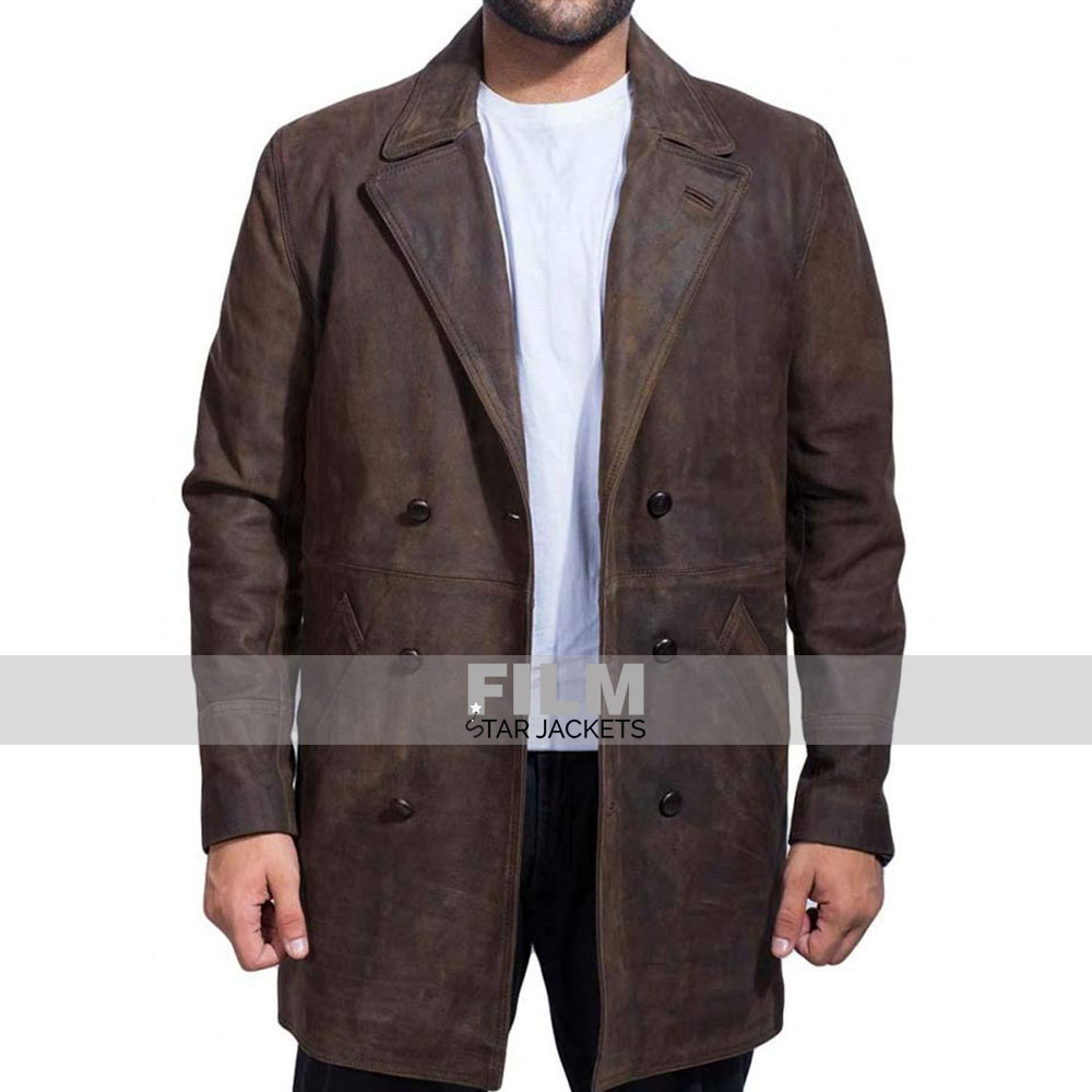 DOCTOR WHO JOHN HURT LEATHER JACKET