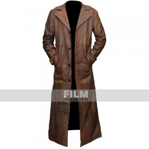Batman V Superman Dawn of Justice Bat Brown Jacket