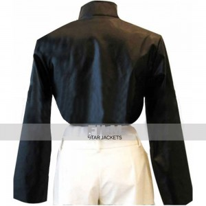 GHOST IN THE SHELL SCARLETT JOHANSSON LEATHER JACKET