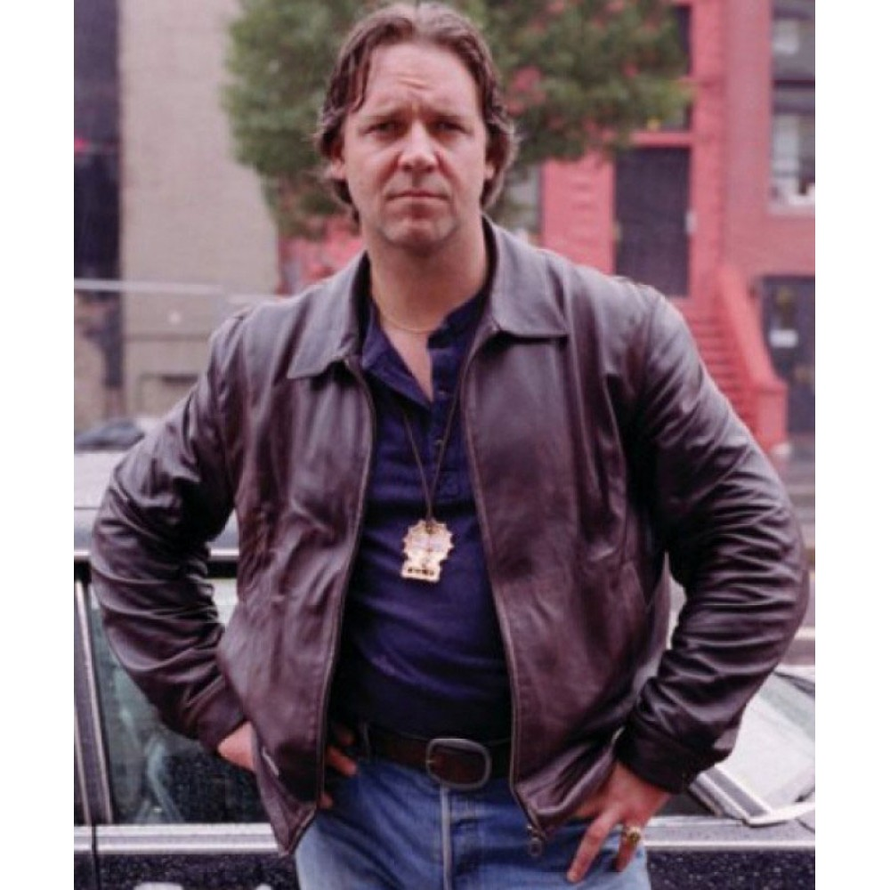 American Gangster Russell Crowe Brown Jacket
