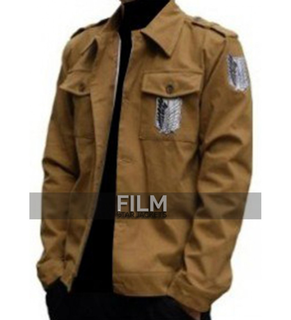 aovei attack on titan recon corps eren jaeger jacket. Black Bedroom Furniture Sets. Home Design Ideas