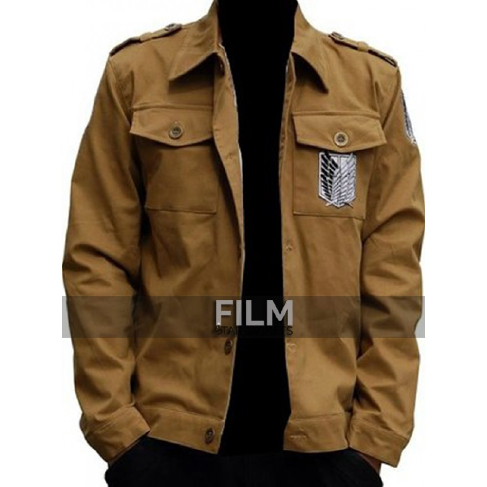 SOVIET ATTACK ON TITAN RECON CORPS EREN JAEGER JACKET
