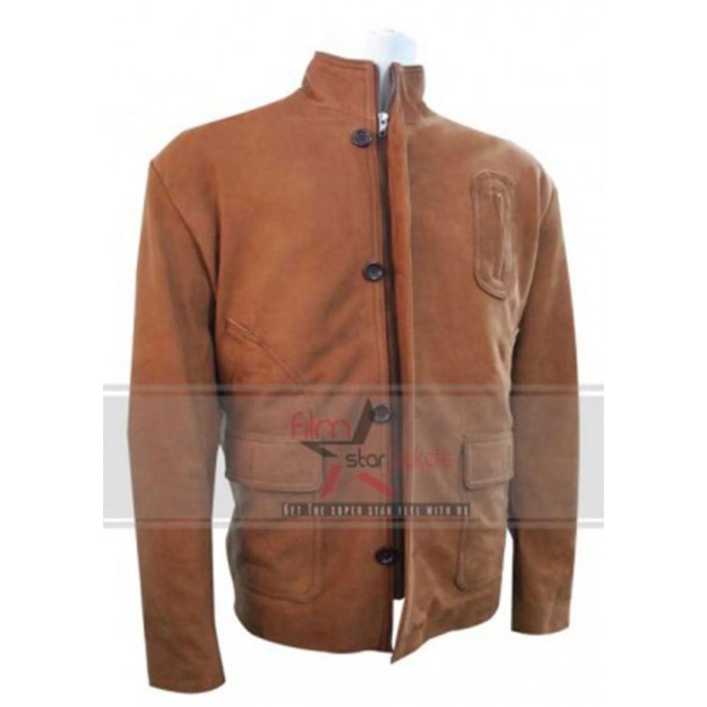 Stephen Amell Arrow Oliver Queen Brown Jacket