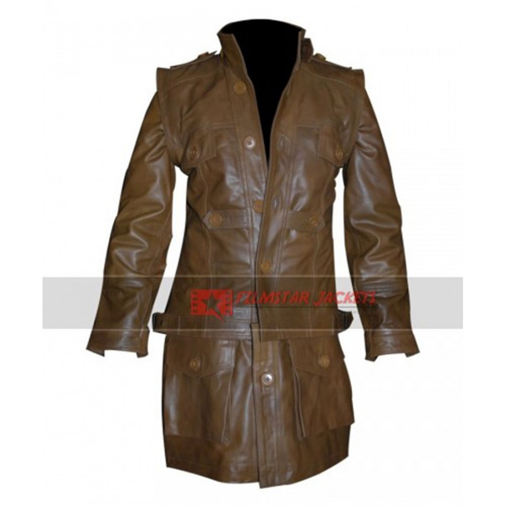 Defiance Grant Bowler Trench Jacket