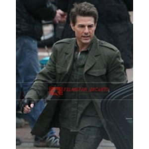 Edge Of Tomorrow Tom Cruise (Bill Cage) Coat