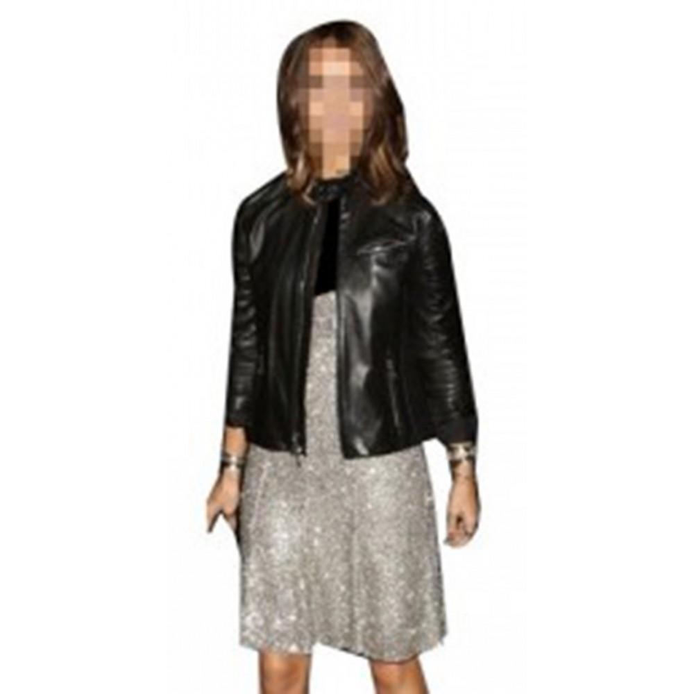 Jessica Alba Black Jacket