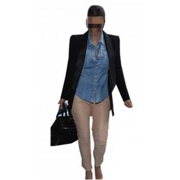 Replica Kim Kardashian Leather Pants