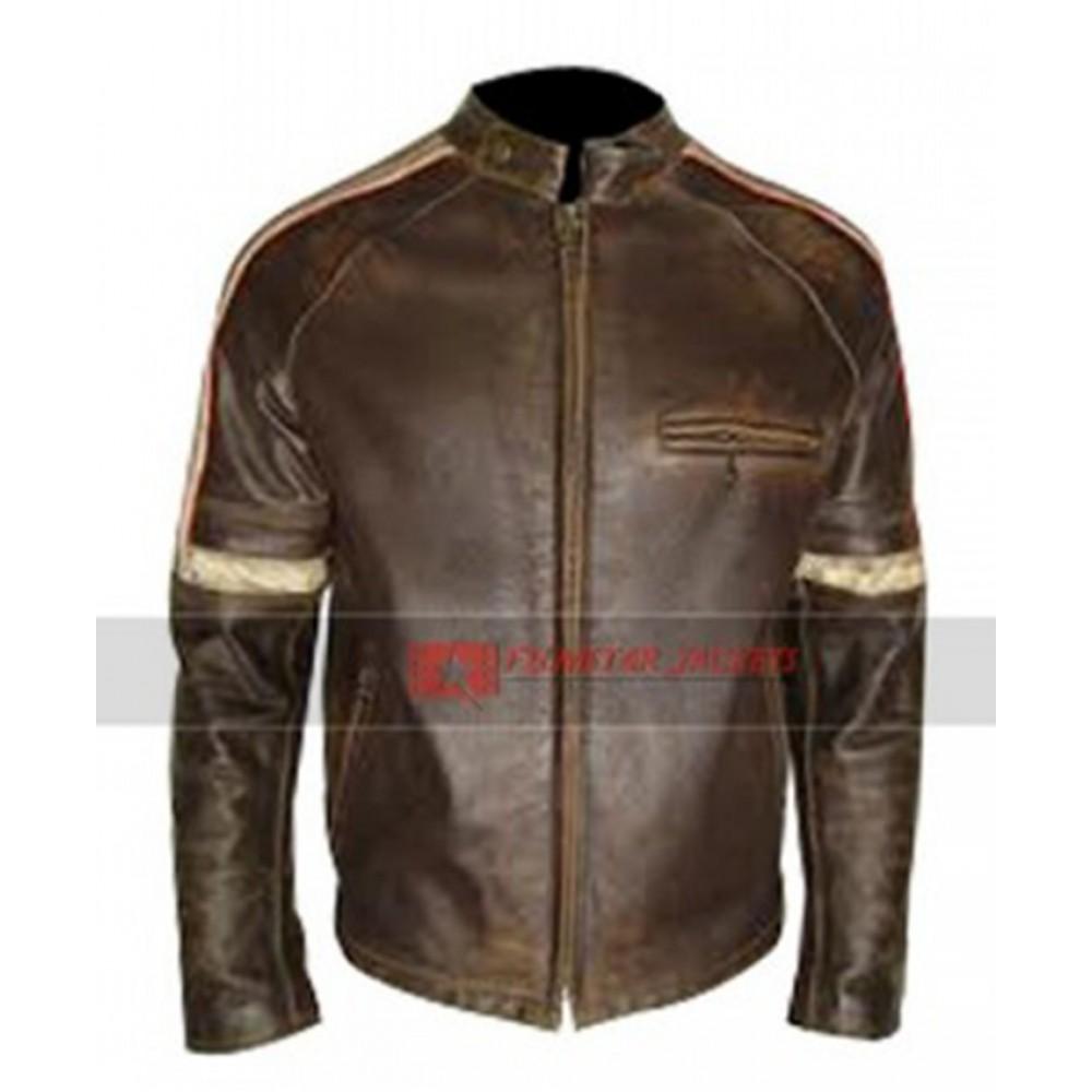 Mens Hero Distressed Jacket