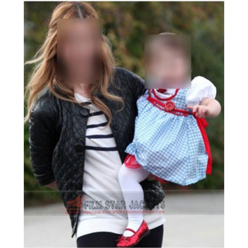 Sarah Michelle Gellar Quilted Jacket