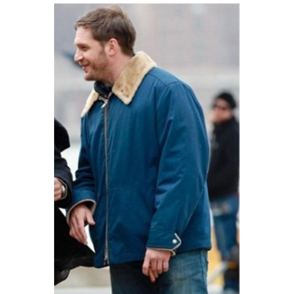 The Drop Tom Hardy (Bob Saginowski) Blue Jacket