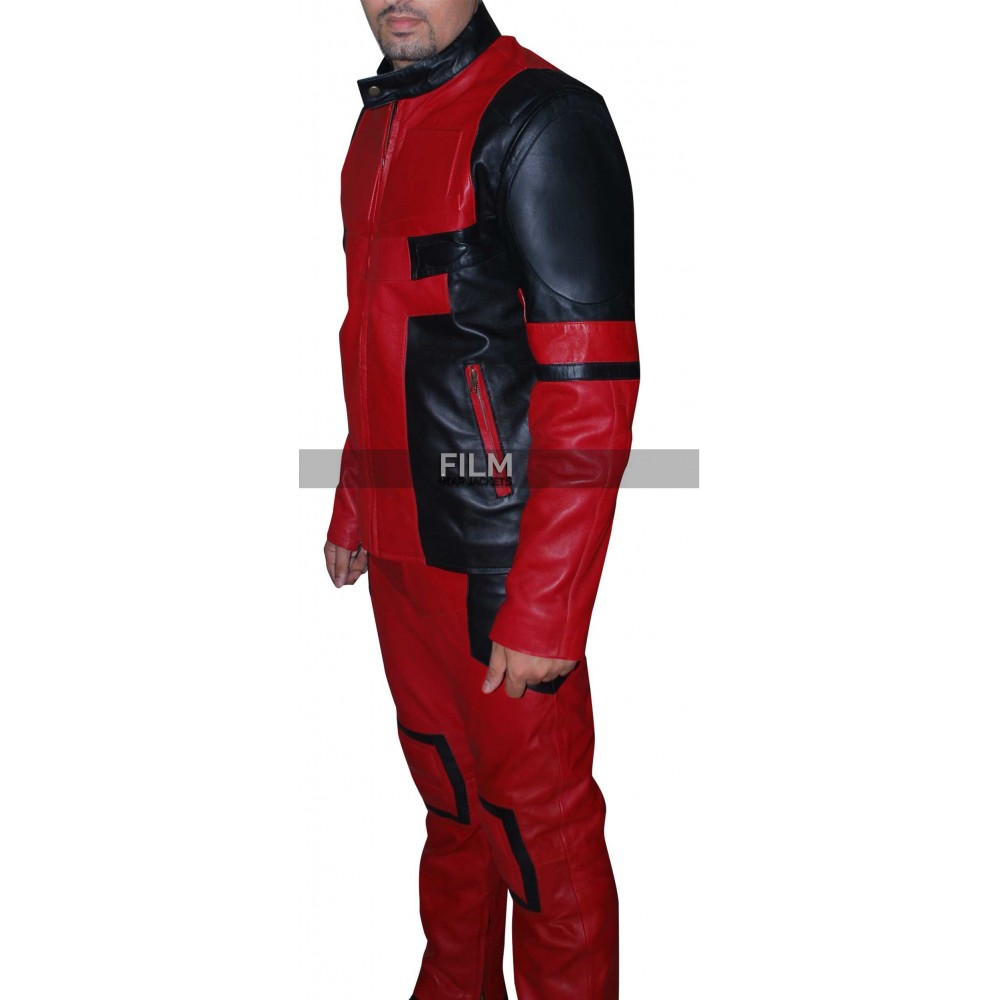 Deadpool 2015 Ryan Reynolds Cosplay Jacket Costume