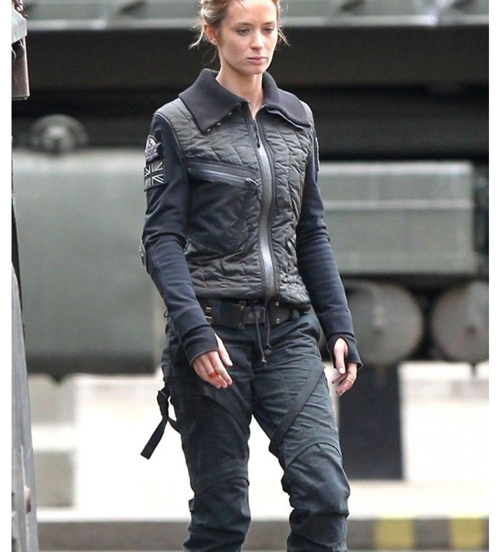 Edge of Tomorrow Emily Blunt Rita Vrataski Jacket