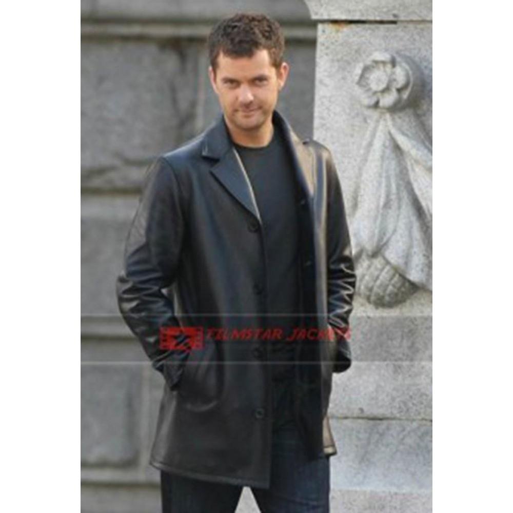 Fringe Joshua Jackson (Peter Bishop) Black Jacket