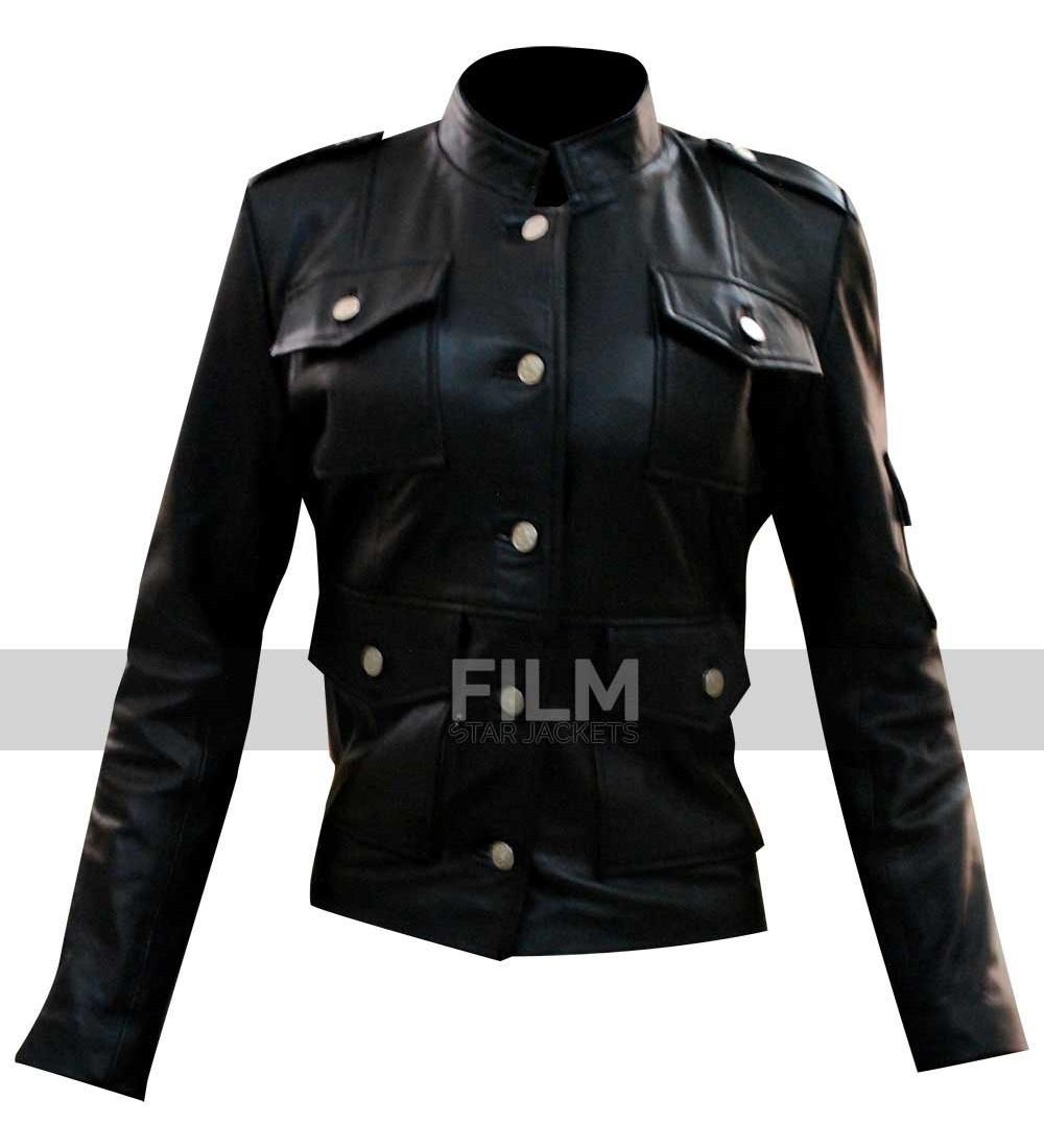 Hathaway leather jacket