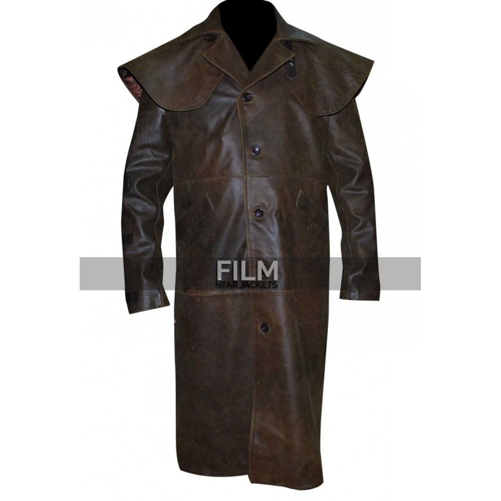 Hellboy Ron Perlman Trench Costume Coat