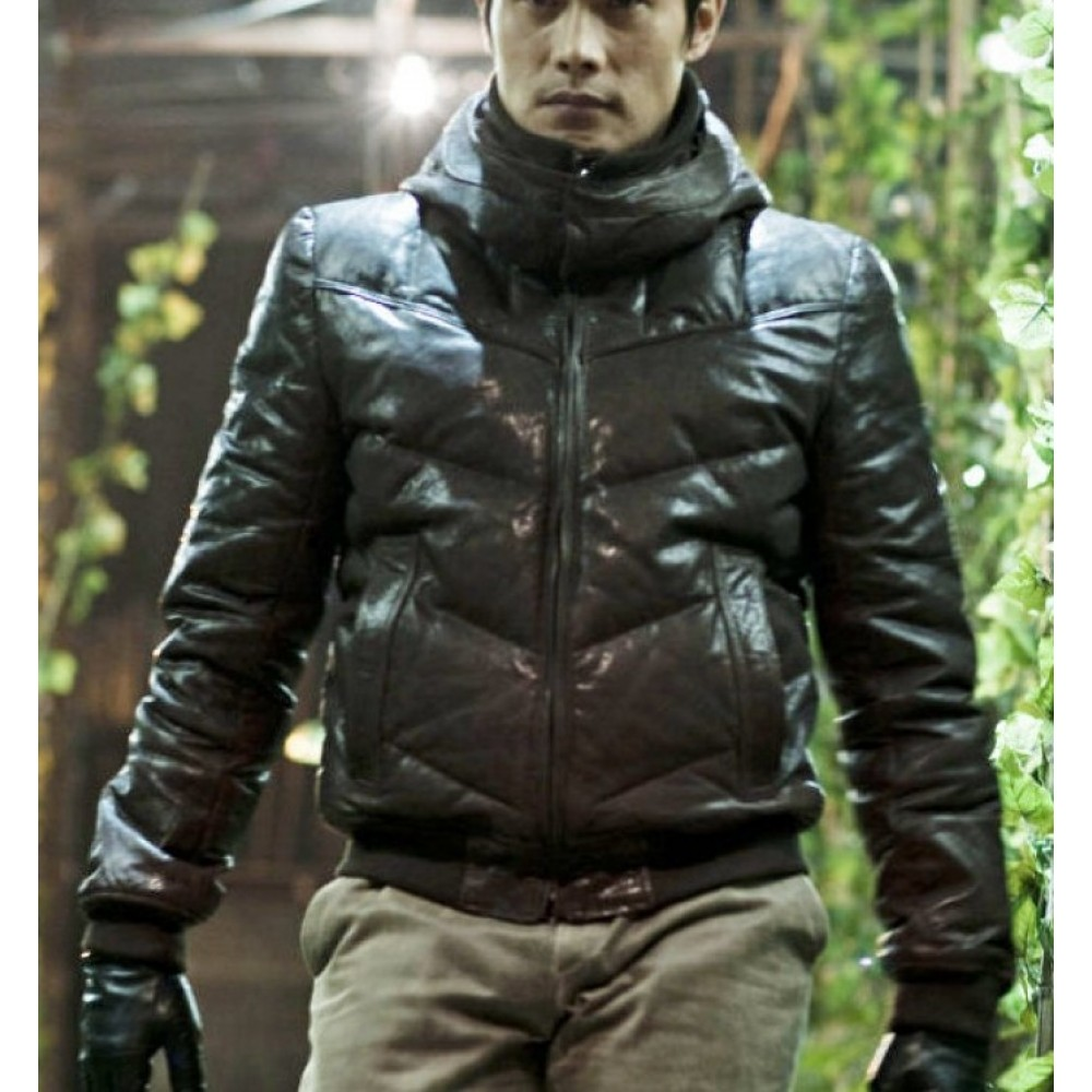 I Saw the Devil Lee Byung-hun Brown Bomber Jacket