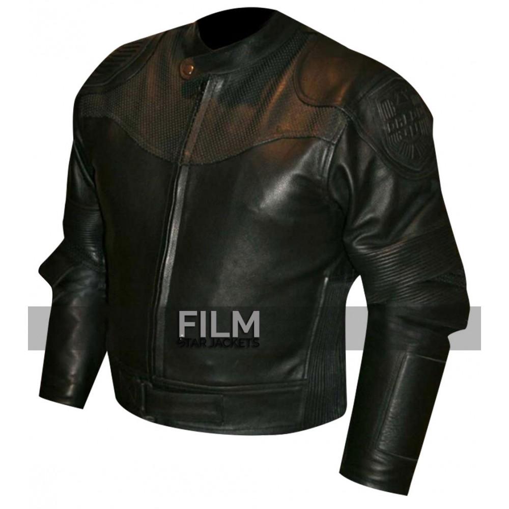 Dredd Karl Urban (Judge Dredd) Black Biker Jacket