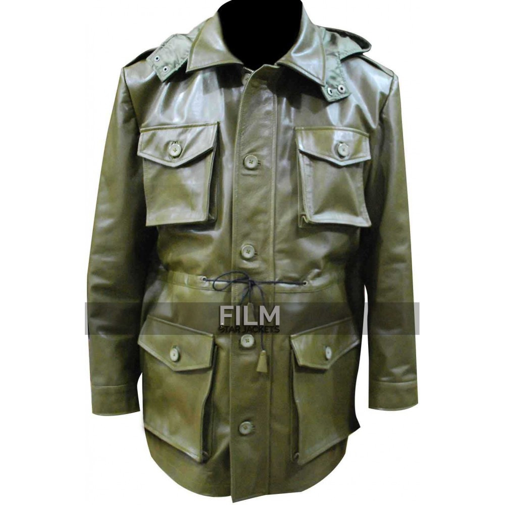Killing Season John Travolta (Emil Kovac) Green Coat