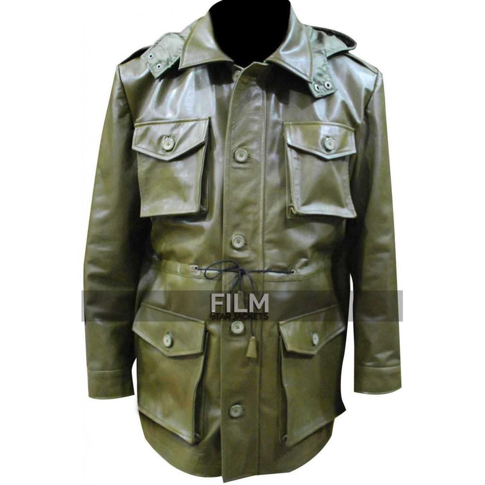 Killing Season John Travolta (Emil Kovac) Green Coat