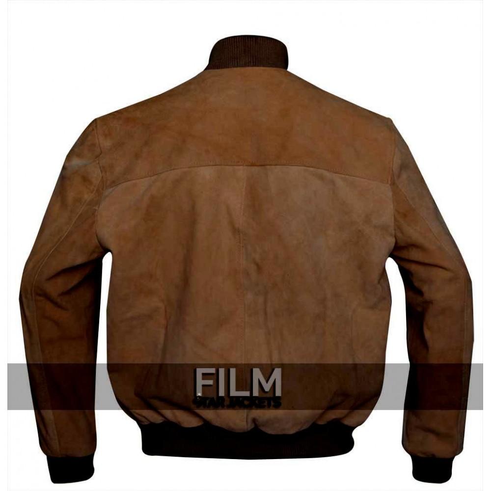 San Andreas Dwayne Johnson (Ray) Brown Bomber Jacket