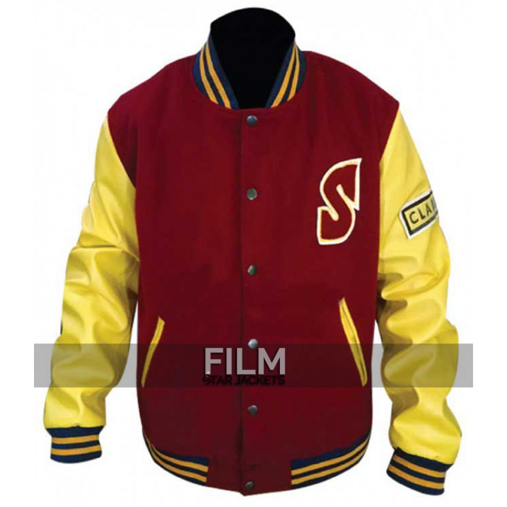 Smallville Tom Welling Crows Letterman Wool With Sleeves Jacket