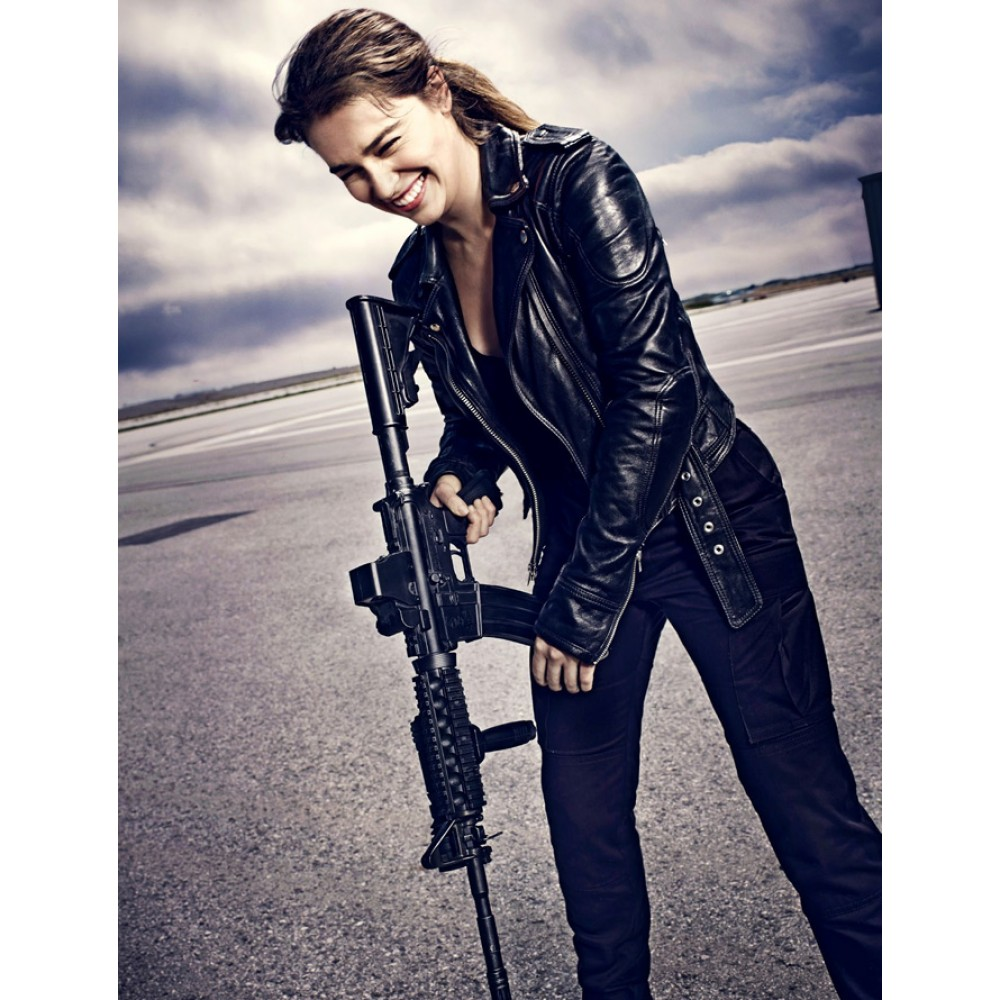 Terminator Genisys Emilia Clarke (Sarah Connor) Jacket