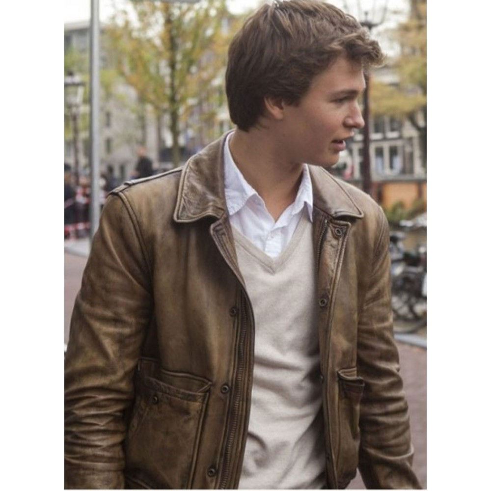The Fault In Our Stars Ansel Elgort Jacket